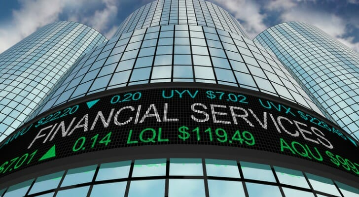 Financial services is one of the largest market sectors.