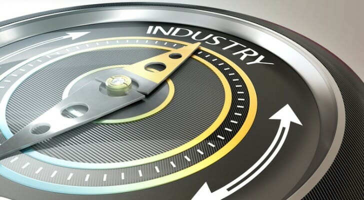 The industrial sector remains a key part of the stock market.
