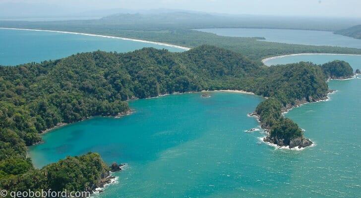 Tela Bay in Honduras