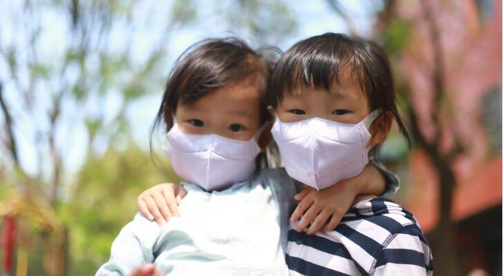 Two girls in Taiwan