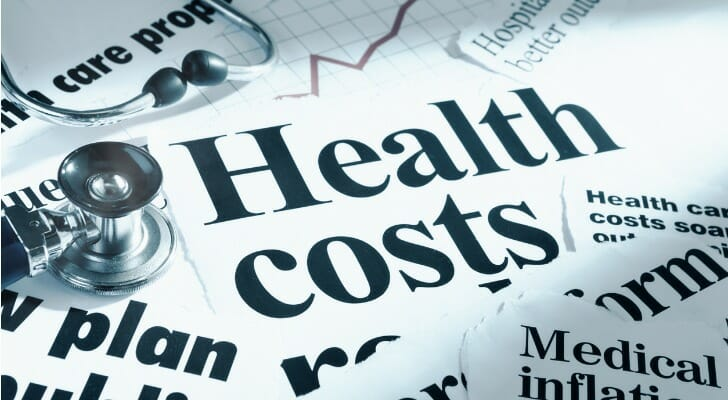 Newspaper clippings on healthcare costs