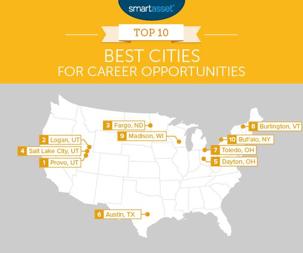 Top 10 Best Cities for Career Opportunities