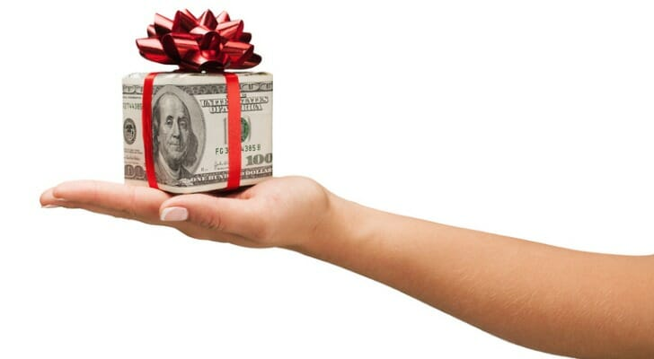 tax on gifts from parents