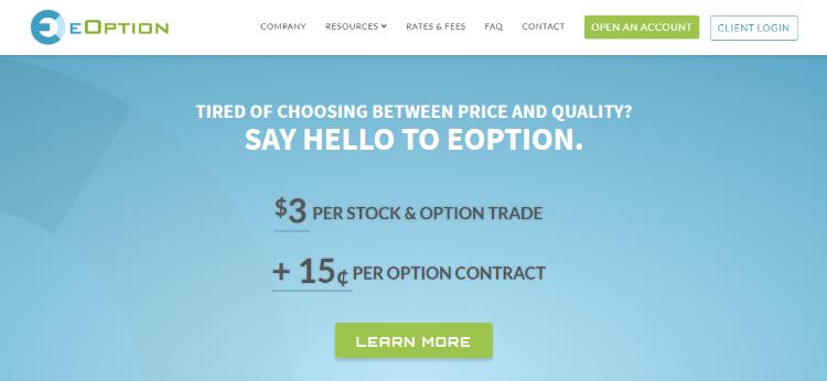 eOption Brokerage Review