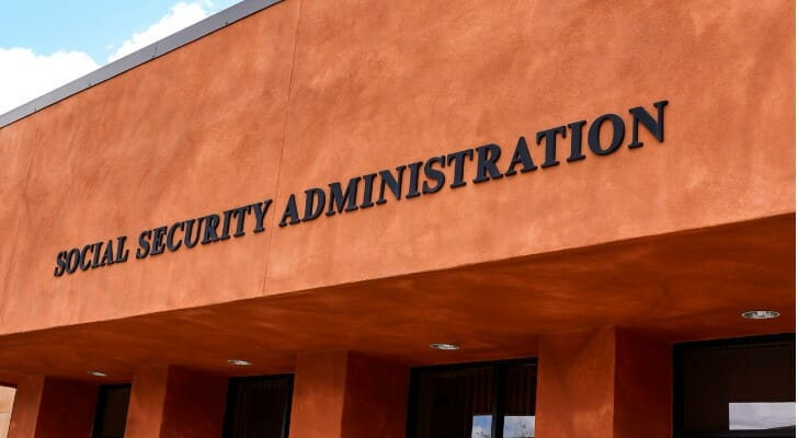 A Social Security office