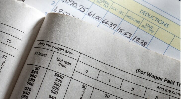 Business tax documents