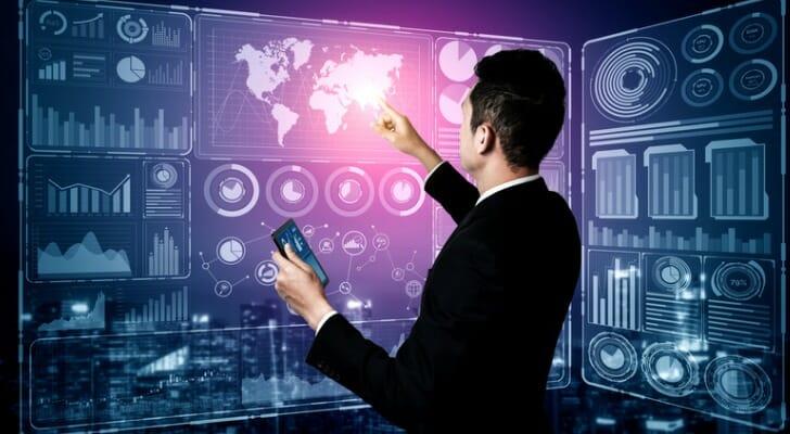Financial professional assesses an asset's risk