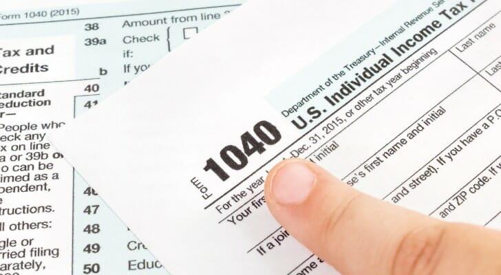 Federal tax form 1040