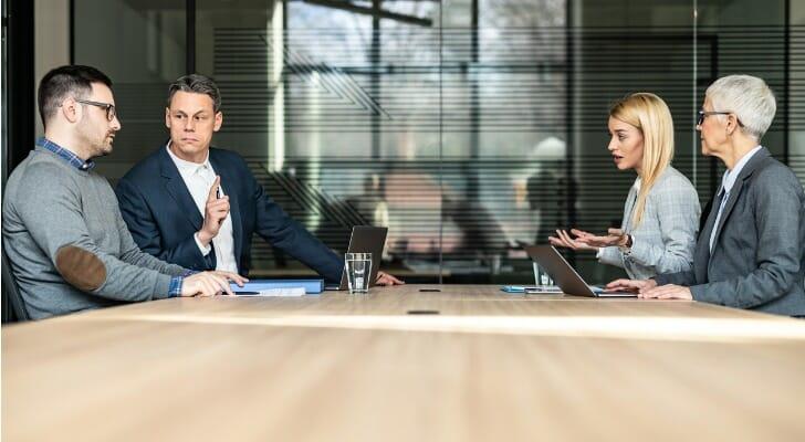 Heirs discuss an estate's disposition
