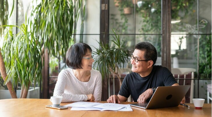Couple discusses their will