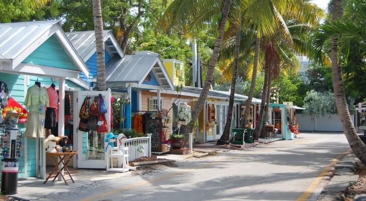 Small businesses in Key West, Florida