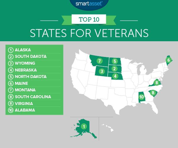 The Best States for Veterans - SmartAsset