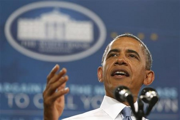 President Obama giving a speech - Are We Ready to Wind Down Fannie and Freddie?