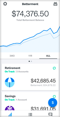 Betterment app